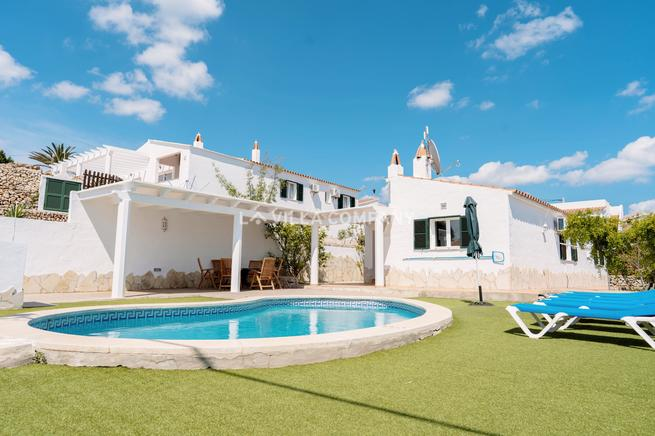 Lovely 3 Bedroom Villa with Private Pool in Menorca