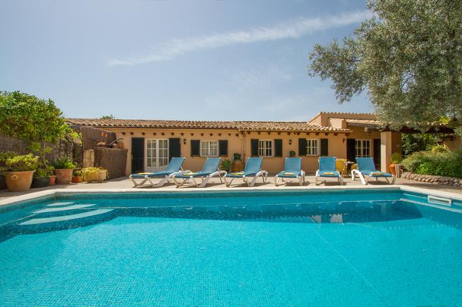 Perfect villa for families vacation in Pollensa