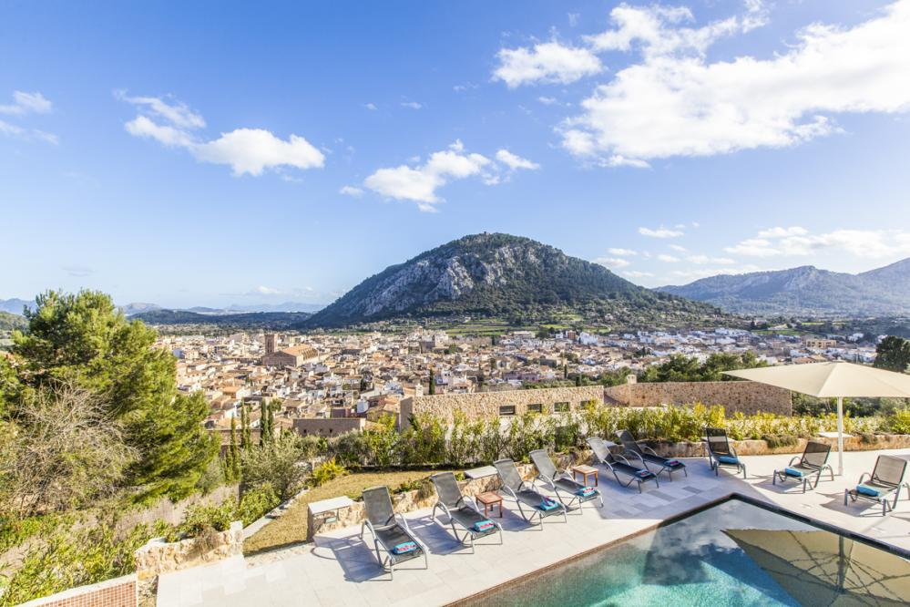 Casa De Calvari - villa to rent in Crestatx, pollensa, spain
