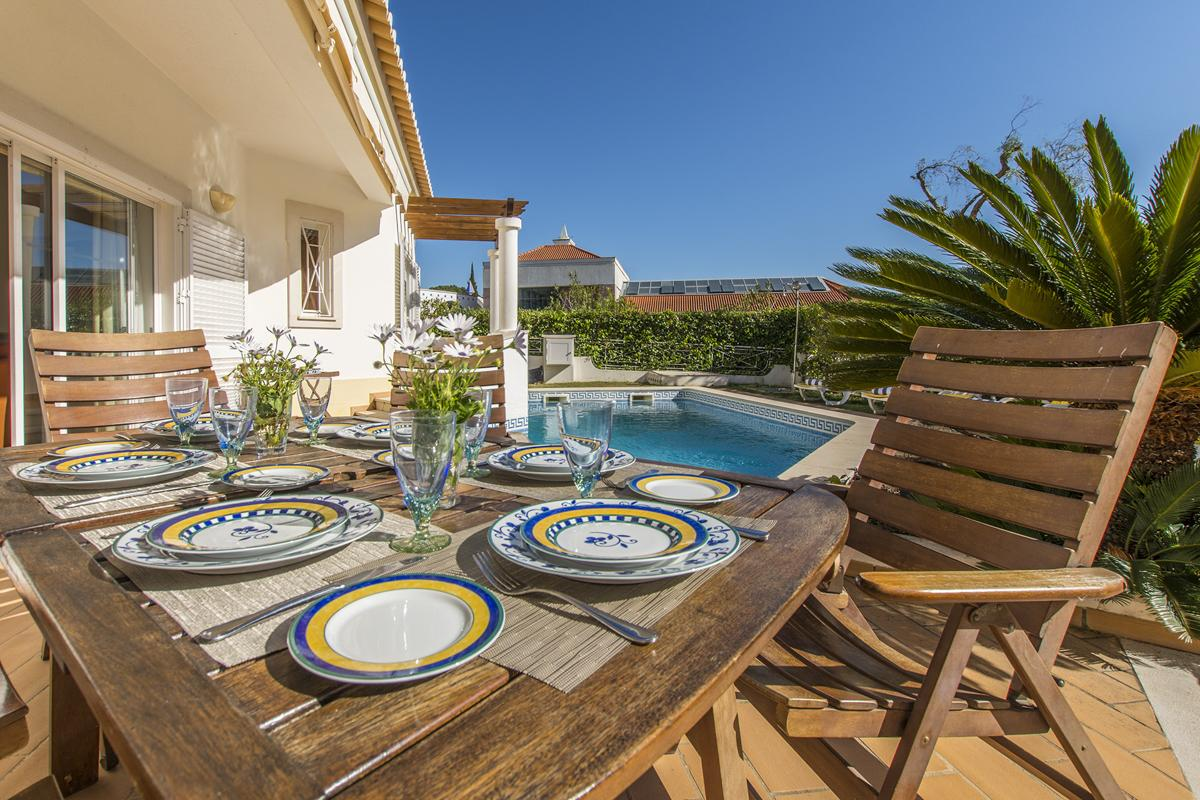Holiday villa for rent in Algarve, Portugal