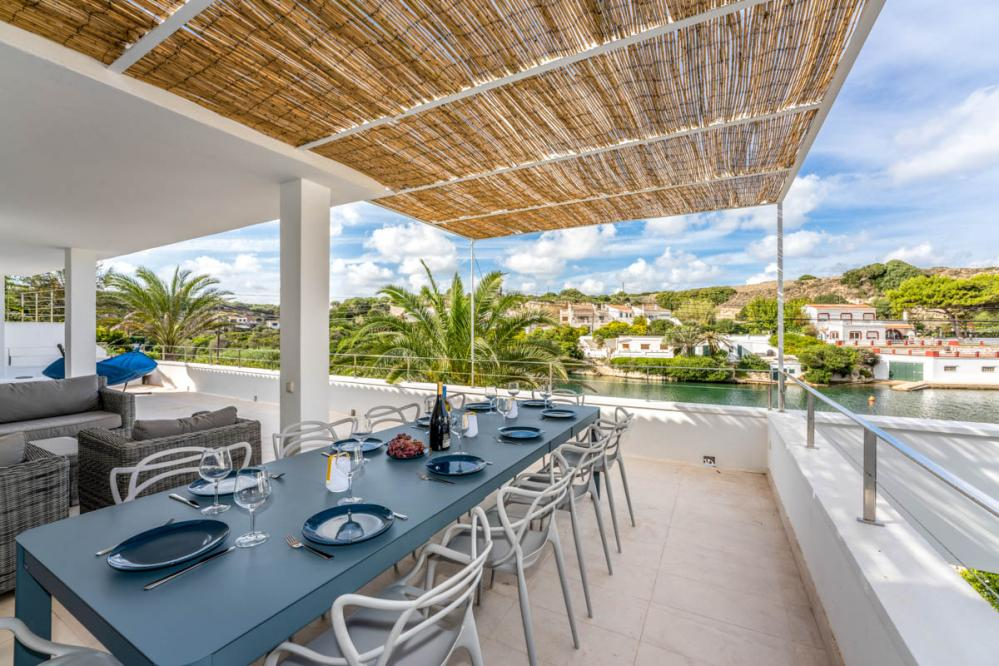 Ideal villa Cala Esteban for a quiet and relaxing holiday on the eastern side of Menorca