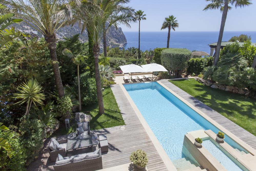 Family villa Coral Andratx with paddling pool, perfect for children in Mallorca