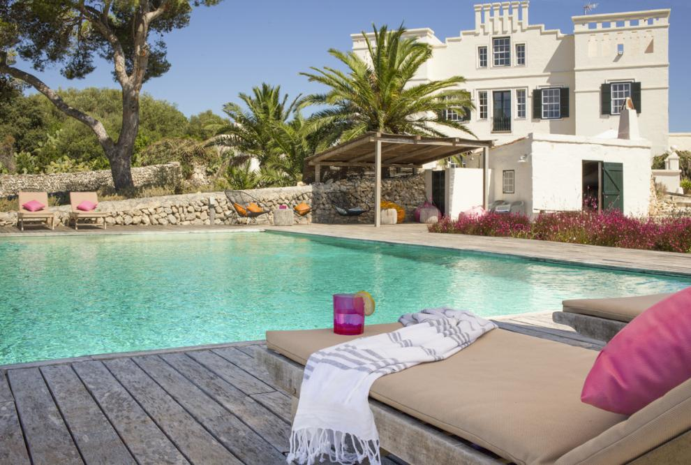 Luxury retreat with sea views in Menorca is an ideal holiday villa