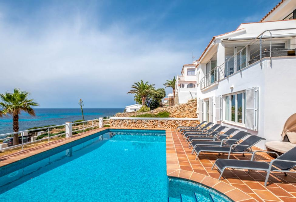 Villa Cristella is a holiday rent that has stunning location, with breath-taking views