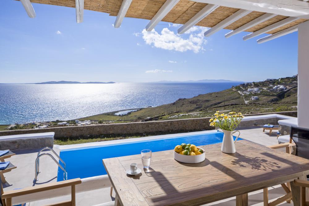 Villa Phi 1 - Luxury Holiday Villas in Greece for Rent, Mykonos