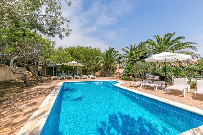 Formentera holiday villa rental in Es Calo, Special for couples!