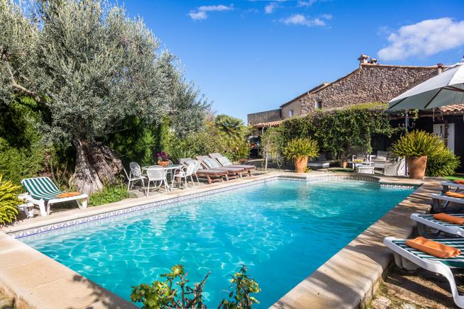 Exclusive traditional mallorcan villa for holiday rental in Pollensa