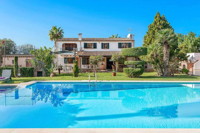 Vinya Gran - Impressive fully equipped villa between Puerto Pollensa and Pollensa