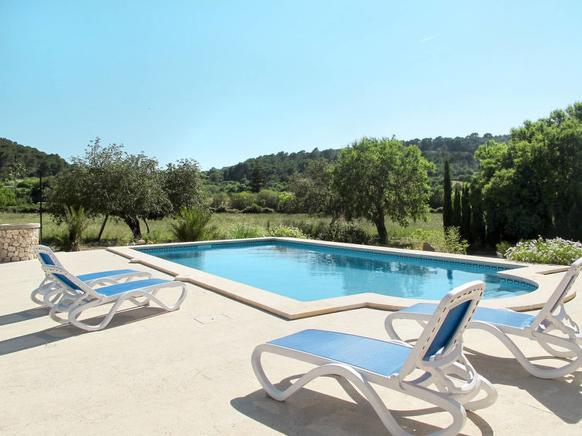 Self catering Holiday villa in Cala dor, Majorca, Spain