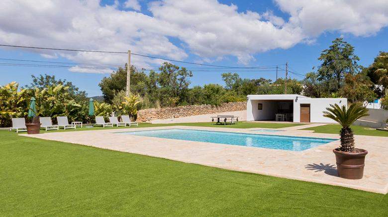 Nice traditional ibizencan house for rent in Santa Eulalia