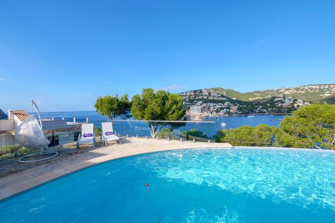 Great Villa surrounded by beautiful beaches such as Cala Llamp, Cala Moragues  in Puerto de Andratx