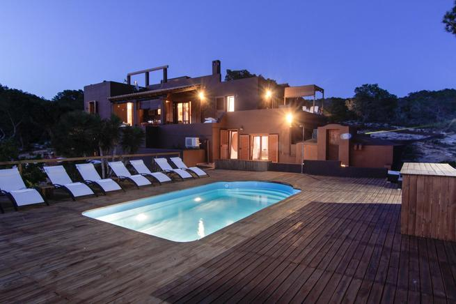 Holiday estate for rent in Es Calo, Formentera, Spain
