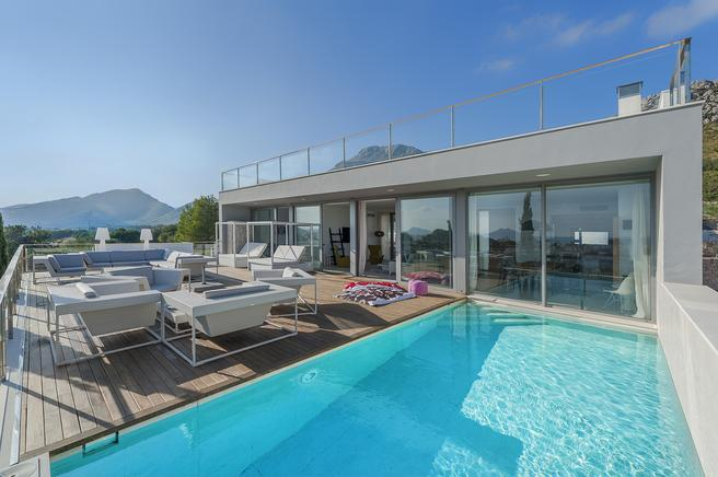 Luxury modern villa in Boquer area in Puerto Pollensa
