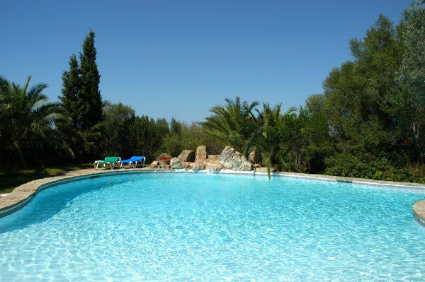 Holiday rental bright farm rental is located in Arta, Spain