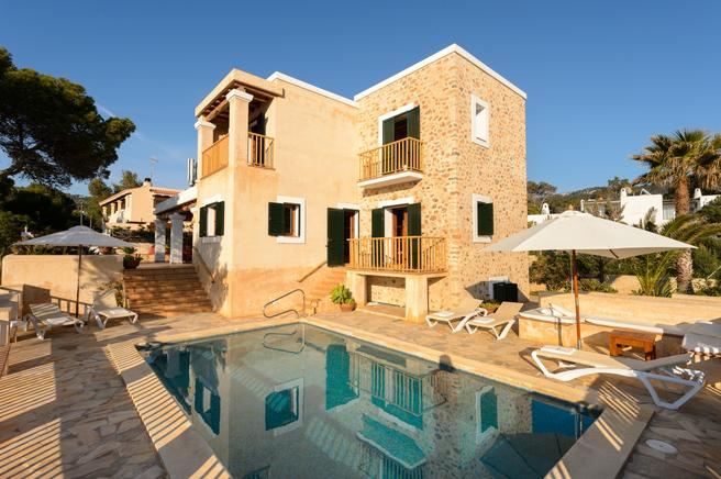 Marvellous villa with spectacular seaviews in Ibiza, Majorca