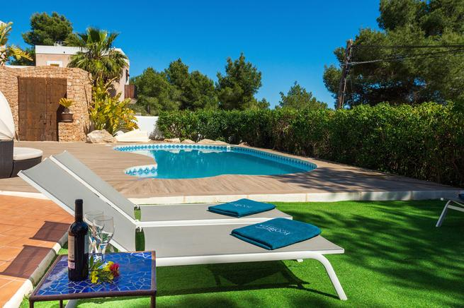 Holiday rental villa in Sa Carroca, Sant Josep