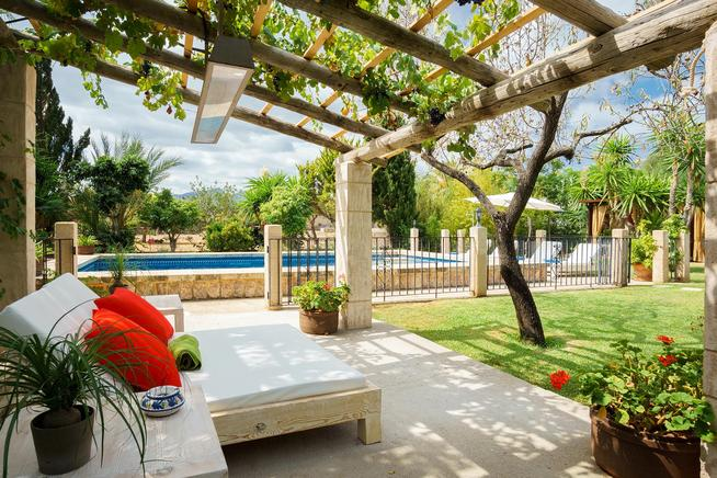 Holiday country home in Pollensa, Mallorca
