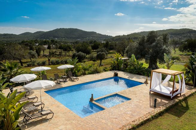Holiday home rental for max. 8 people in San Carlos, Ibiza