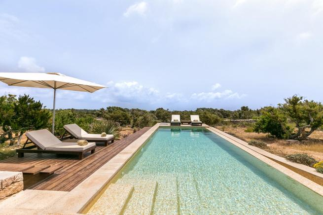 Holiday Villa for large family in Formentera, Spain