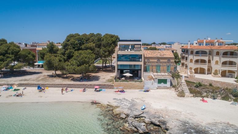 Frontline sea view Villa in unbelievable Colònia de Sant Jordi (Near Es Trenc)