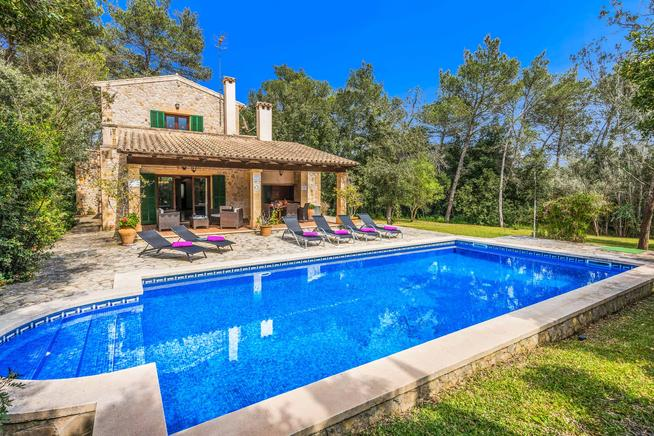Villa Can Joan is perfect villa for holidays in Pollensa - Sa Pobla