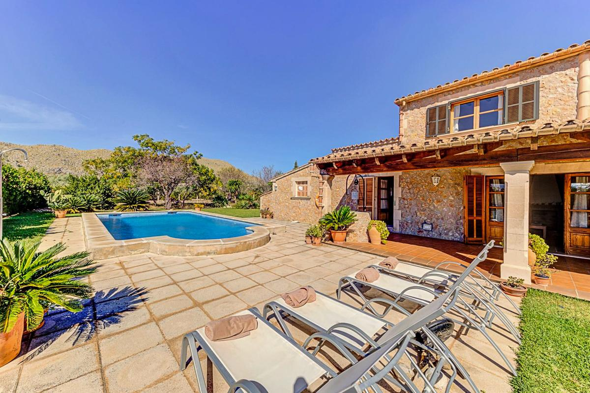 Villa Olivellas is an ideal retreat in Puerto Pollensa
