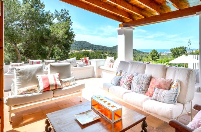 Ibiza holiday villa rental in Santa Eulalia, Spain