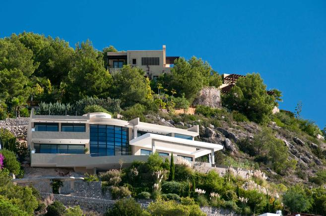 Impressive luxurious villa in the east of ibiza, Spain