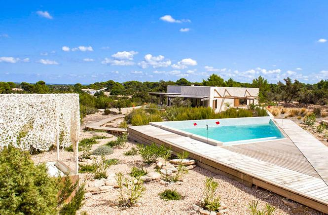 Luxury and spectacular villa in Es Cap de Barbería, Formentera
