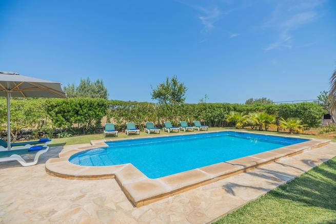 Luxury villa perfect for families holidays, book now. Pollensa