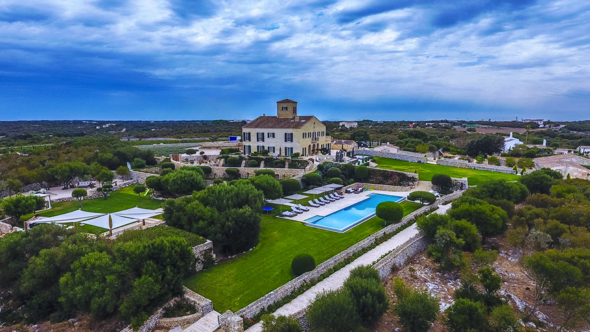 Holiday villa Sant Climent in Menorca, spain