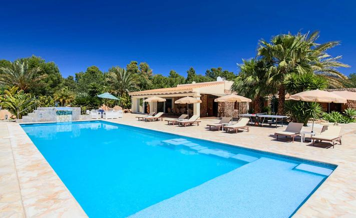 Nice and relaxing villa for rent in Ibiza