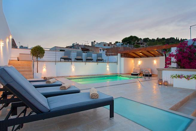 Sensational family townhouse with pool, Mallorca