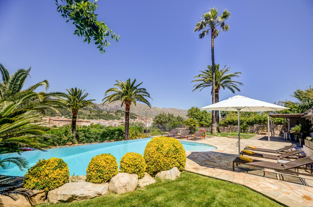Villa Pollensa Puig - Small holiday paradise to rent in Pollensa