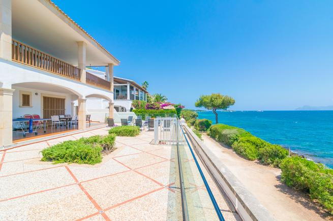 Villa for rent in Alcanada, Alcúdia, Mallorca