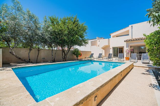 Villa is ideal for families in Spain