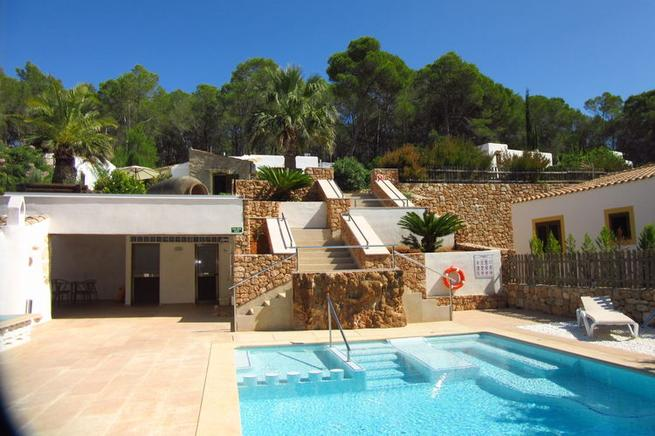 Casa Mia is a perfect villa rental for couples in santa Eulalia, Ibiza
